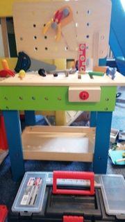 Kinderwerkbank Holz