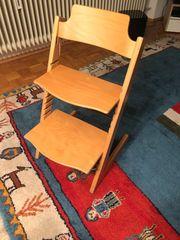 Trip trap stokke Kindersitz Natur