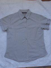 Damen Bluse kurzarmig Gr 46
