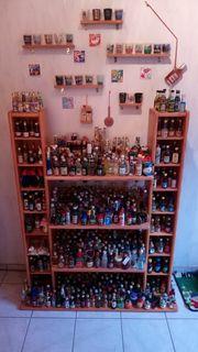 Miniatur-Flaschensammlung