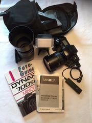 Fotoapparat Minolta Dynax 700 si
