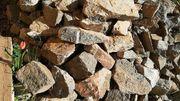 Granitbruchsteine Granitsteine Bruchsteine