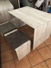 Tische inklusive Sitzbank einschiebbar Essecke