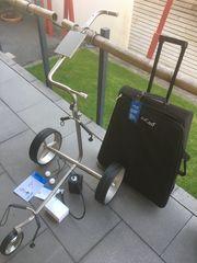 Jucad Elektro - Golftrolley Drive titan