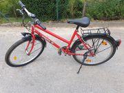 Fahrrad - 26-Zoll - 24-Gang - gebraucht