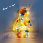 Lego Led Lampe aus Epoxidharz