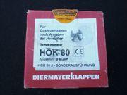 Abgasklappe HOK80 NEU
