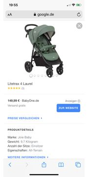 Buggy Joie litrex 4