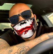 Stoff Maske mit Motiv