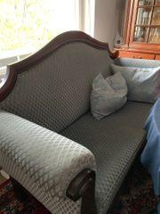 Antike Sitzgruppe 1 Sofa 2