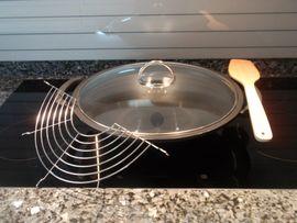 Geschirr und Besteck - WOK-Set induktionsgeeignet