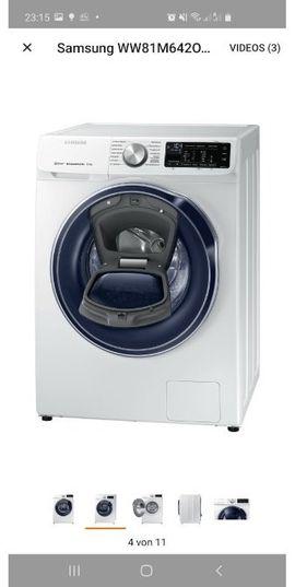 Bild 4 - Samsung Waschmaschine Quick Drive 8kg - Heidelberg Bergheim