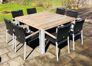 Gartenmöbel Gartentisch und Gartenstühle