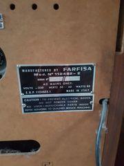 Orgel Farfisa Mod Nr 112452-E