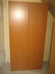 Kleiderschrank mit Schuhablage HxBxT - 200
