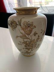 Wunderschöne Vase edel vergoldet Krautheim