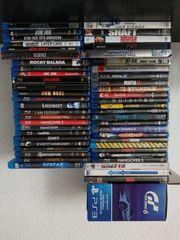 Blu-ray DVD PS3- Spiele zu