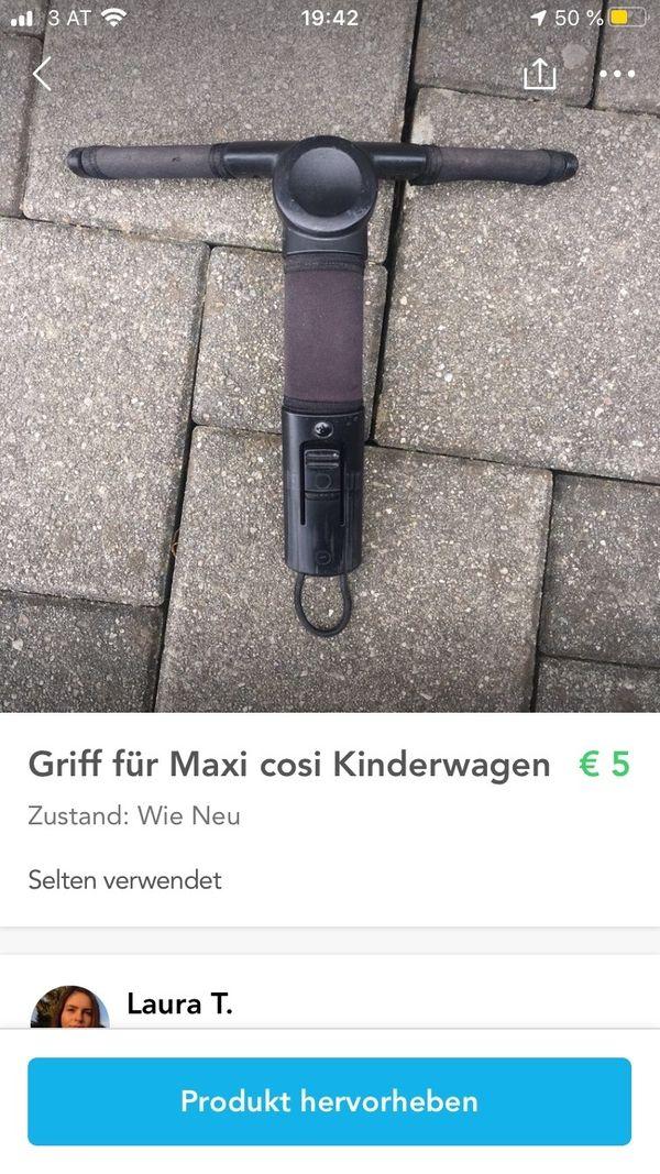 Griff für Maxi cosi Kinderwagen