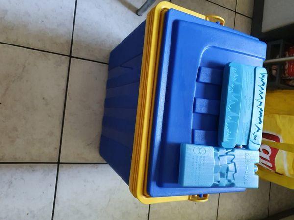 Schöne Kühlbox mit 2 Kühlakkus