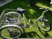 E-Bike für Senioren 3-Rad 7-Gang