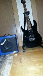 E- Gitarre Linkshänder Ibanez
