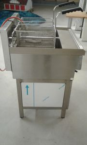 Gas-Doppelfriteuse-Royal-Catering-RCGF-10DL30S-2x-10l 2x-6KW