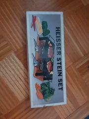 Heisser Stein Terasse Grillen