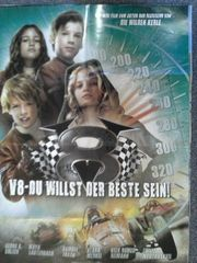 Kinderfilm Plakat A1 Autorennen V8