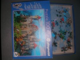 Spielzeug: Lego, Playmobil - 2 Playmobil Puzzle Ritterburg Piratenschiff