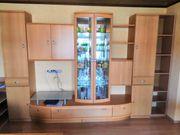 Musterring Wohnzimmerwand in Buche zu