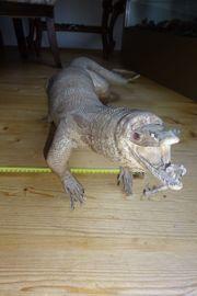 Ausgestopfter Leguan groß