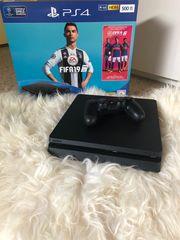 PlayStation 4 Fifa19 Cod4 LittleBigPlanet
