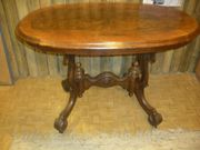 Antiker ovaler Tisch ca Jahrhundertwende