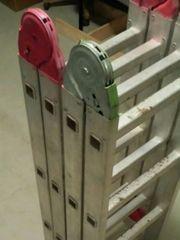 Vielzweckleiter Aluminium Typ 4x3 en131
