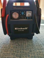 Einhell Autostartgerät mit Kompressor Autobatterie