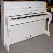 Klavier Willis 110 weiß sat