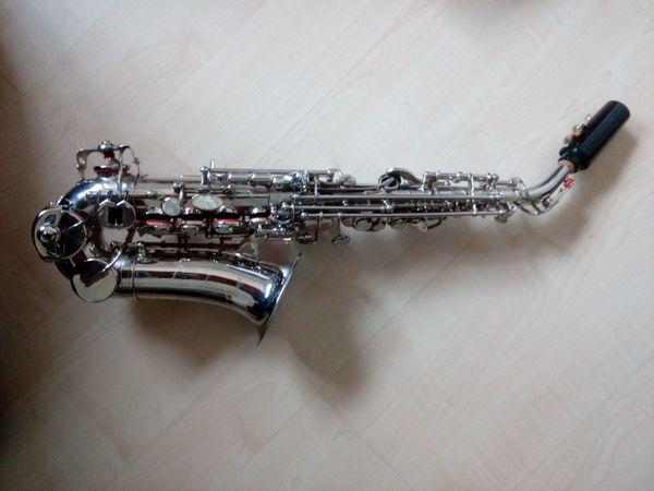 Saxophon Sopran gebogen