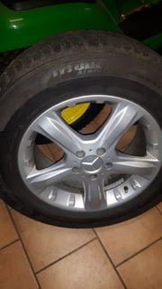 Mercedes ML Winterreifen von Michelin