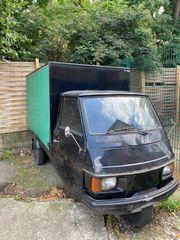 Piaggio ape Imbiswagen verkaufswagen einzelstück