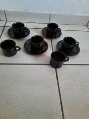 Kaffee Service 10 Teile es