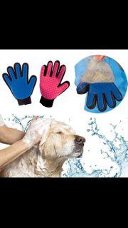 Handschuh für Hunde- Katzenfell