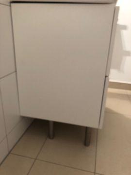 Bad, Einrichtung und Geräte - Waschtisch Unterschrank IKEA Gogdmorgon weiß