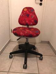 Schreibtisch Drehstuhl höhenverstellbar für Kinder