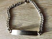 silbernes Armkettchen Schmuck Armband
