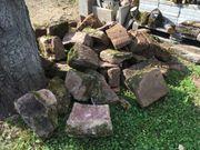 Sandsteine verschiedener Größen