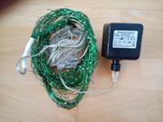LED - Lichterkette mit Netzteil