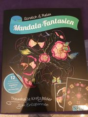 Mandala-Fantasien Scratch Relax