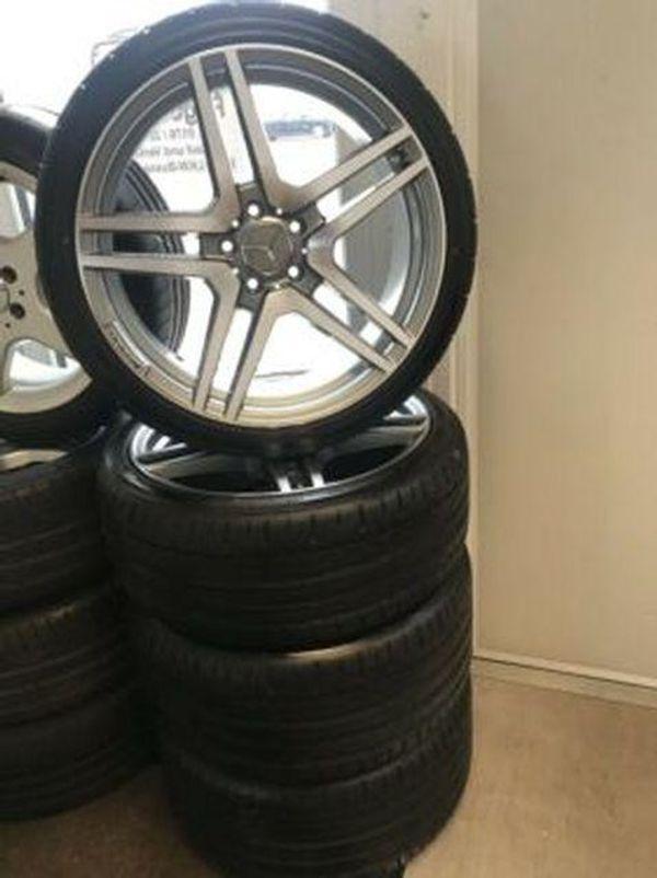 Mercedes AMG Styling 4xAlufelgen Reifen