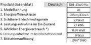 Fernsehr - Full HD - 43 Zoll -