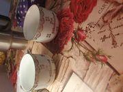 Verkaufe 2 Tassen zur Silberhochzeit